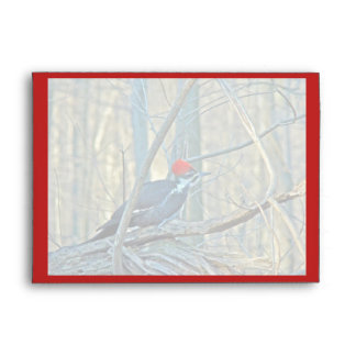 Pileated Woodpecker Coordinated Items Envelope