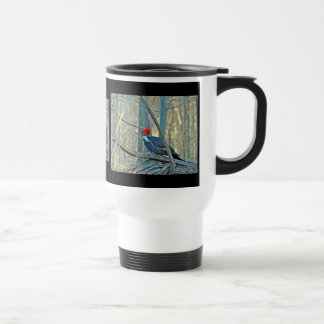 Pileated Woodpecker Coordinated Items Travel Mug
