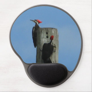 Pileated Woodpecker Gel Mouse Pads