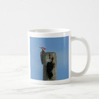 Pileated Woodpeckers Mug