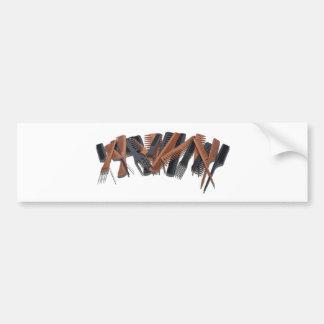 PileOfCombs030811 Bumper Sticker