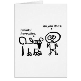 Piles Card