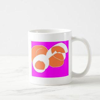 piles classic white coffee mug