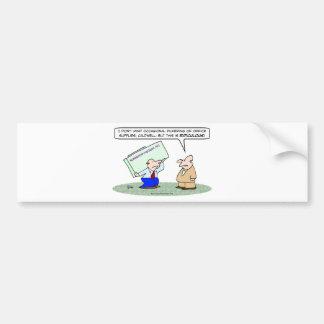 pilfer office supplies copy  machine bumper sticker