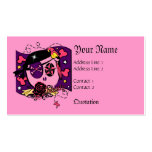 Pilfering in Pink Business Card Templates