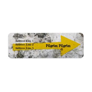 Pilgrim Arrow Address Labels