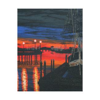 Pilgrim at dawn canvas print