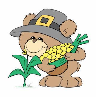 pilgrim bear harvesting cutout