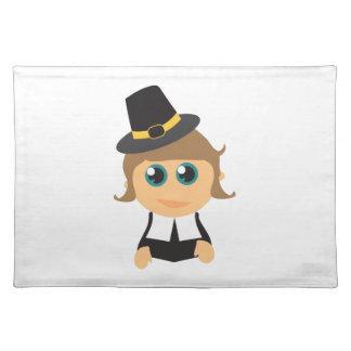 Pilgrim Boy Cloth Placemat