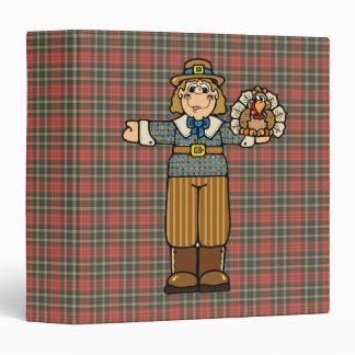 pilgrim boy with turkey binders