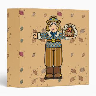 pilgrim boy with turkey vinyl binders