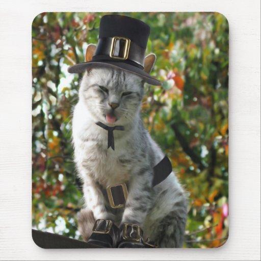 Pilgrim Cat Mouse Pad
