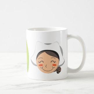 Pilgrim Couple Coffee Mugs