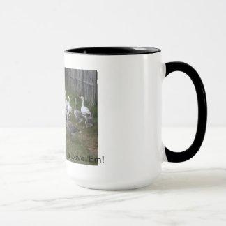 Pilgrim Geese Mug