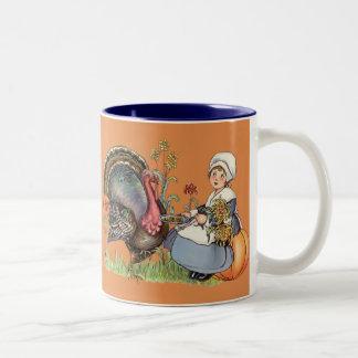 Pilgrim Girl Mugs
