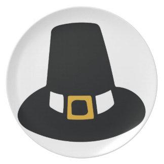 Pilgrim Hat Dinner Plate
