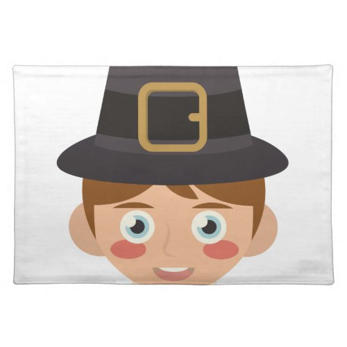 Pilgrim Head Placemat