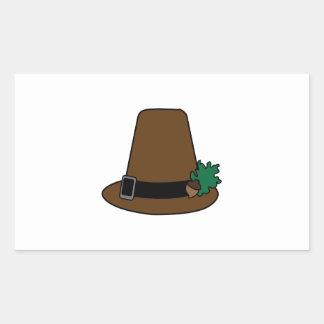Pilgrim High Hat Rectangular Sticker
