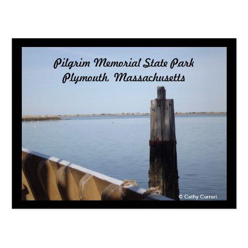 Pilgrim Memorial State Park, Massachusetts Postcard