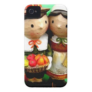 Pilgrim Pair iPhone 4 Case-Mate Case