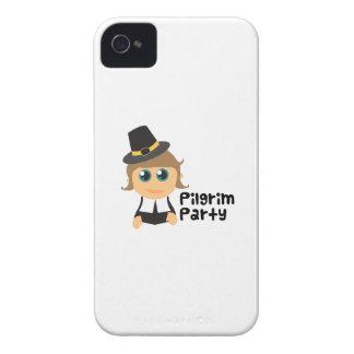 Pilgrim Party iPhone 4 Case
