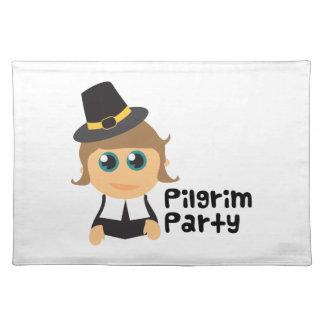 Pilgrim Party Cloth Place Mat