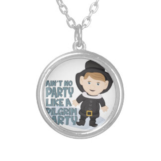 Pilgrim Party Silver Plated Necklace