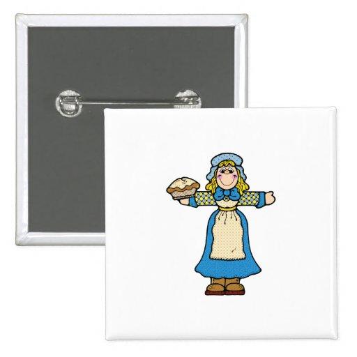 pilgrim pie girl pins