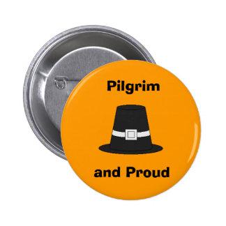 Pilgrim Pride 2 Inch Round Button