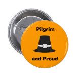 Pilgrim Pride Pinback Button