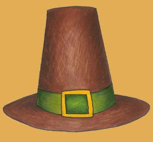 Pilgrim Puritan Hat Happy Thanksgiving Autumn Fall Wham-O Frisbee 023abffb01c8