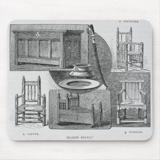 Pilgrim Relics Mouse Pad