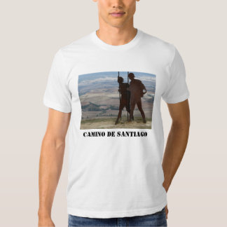 Pilgrim Statue T-shirt