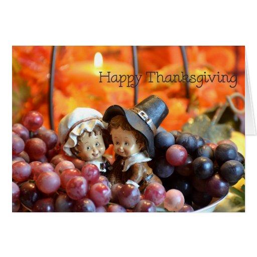 Pilgrim Thanksgiving Cards