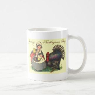 Pilgrim & Turkey Coffee Mug