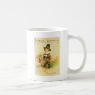 Pilgrim With Basket Coffee Mug