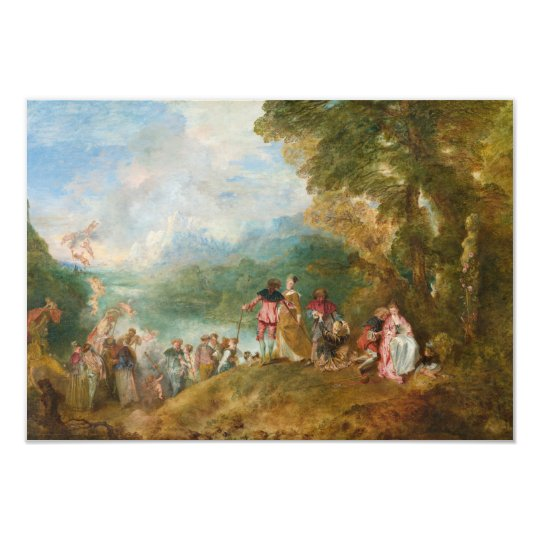 Pilgrimage to Cythera The Embarkation for Cythera Card