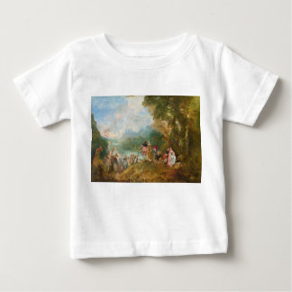 Pilgrimage to Cythera The Embarkation for Cythera Infant T-shirt