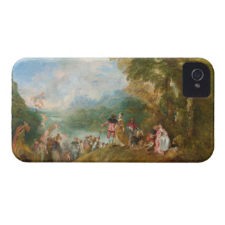 Pilgrimage to Cythera The Embarkation for Cythera iPhone 4 Case