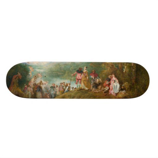 Pilgrimage to Cythera The Embarkation for Cythera Skate Decks