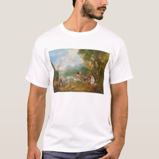 Pilgrimage to Cythera The Embarkation for Cythera T-Shirt