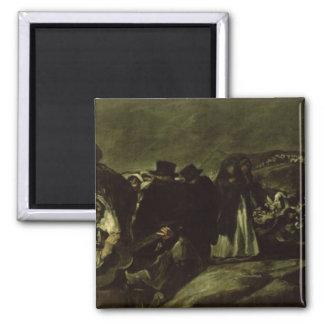 Pilgrimage to San Isidro's Fountain, c.1821/3 Fridge Magnets