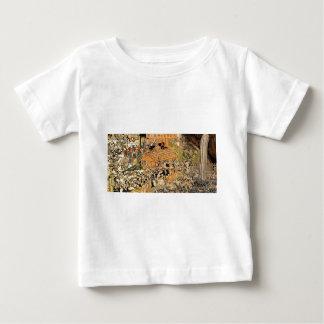Pilgrims at the Roben waterfall Oyama by Utagawa Baby T-Shirt