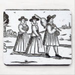 Pilgrims departing for the New World Mouse Pad