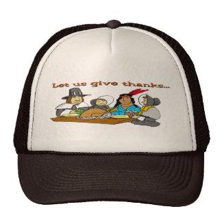 Pilgrims Give Thanks Trucker Hat