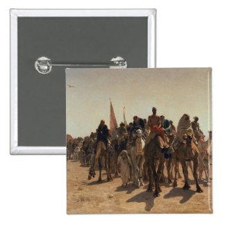 Pilgrims Going to Mecca, 1861 Pinback Button