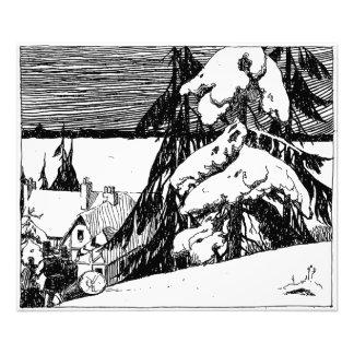 Pilgrims Logging? Photo Print