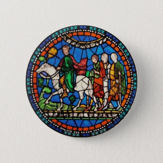 Pilgrims or Canterbury Pinback Button