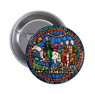 Pilgrims or Canterbury Pinback Button