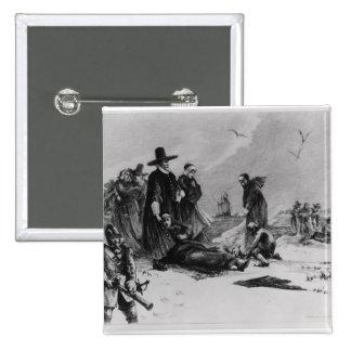 Pilgrims Pinback Button
